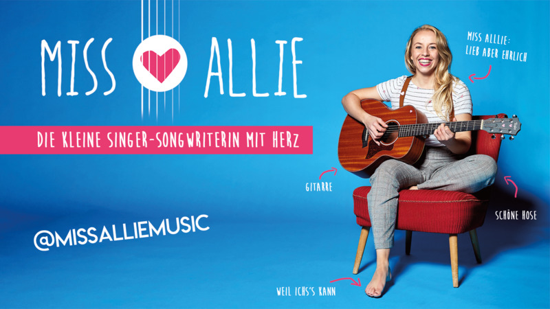 Miss Allie - Die kleine Singer-Songwriterin mit Herz (1)