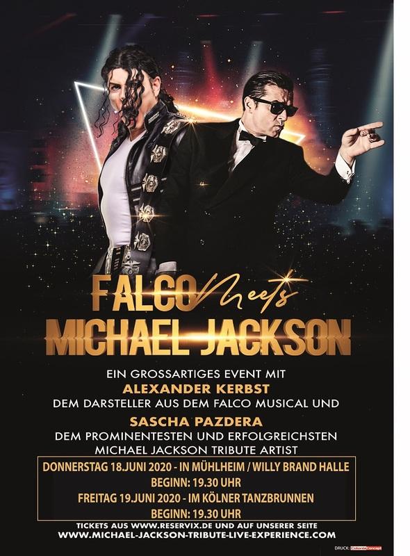 FALCO meets MICHAEL JACKSON - Das Musical Konzert Ereignis 2020