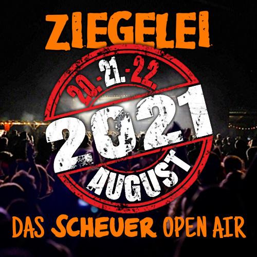 ZIEGELEI OPEN AIR Festival - Tageskarte Samstag