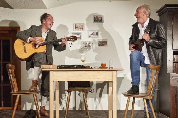 Theater: Chaim und Adolf - Theater Lindenhof Melchingen