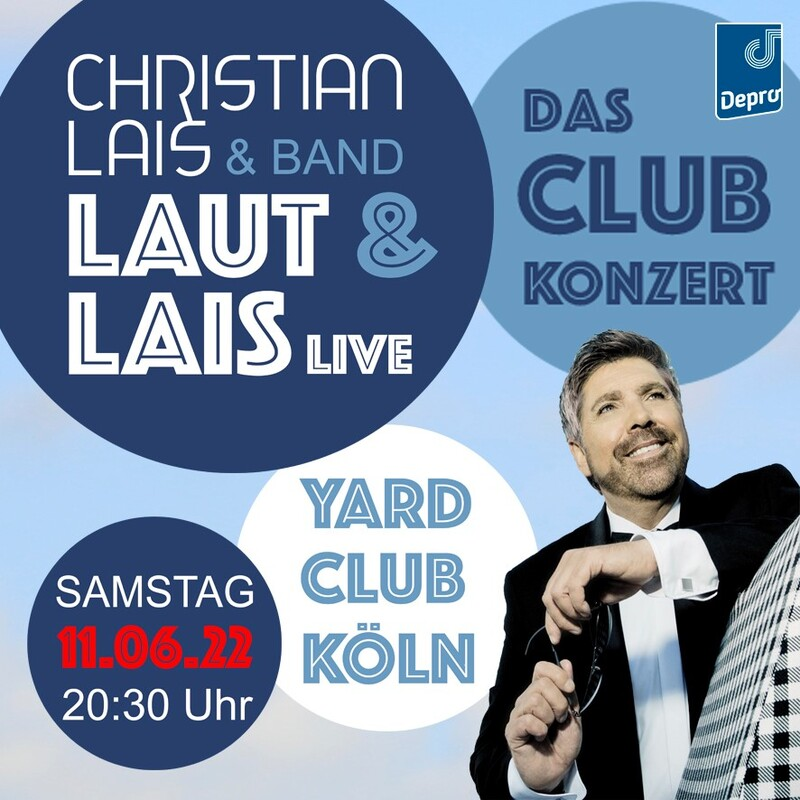 "Christian Lais ""LAUT & LAIS"" live mit 2 Musikern - Das Clubkonzert"