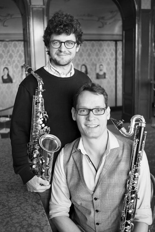 Duo Saxophon und Bassklarinette