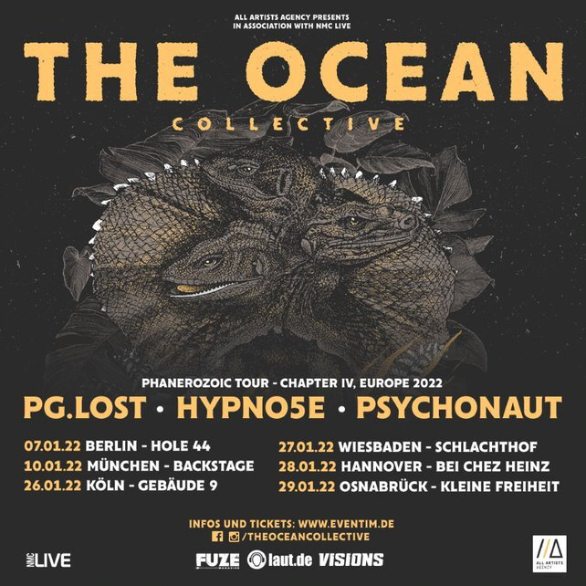 THE OCEAN - PHANEROZOIC TOUR - CHAPTER IV, EUROPE 2022