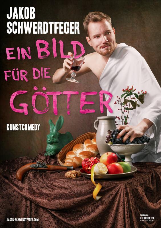 """Jakob Schwerdtfeger - Soloprogramm """"Ein Bild für die Götter"""" Frankfurt Premiere"""