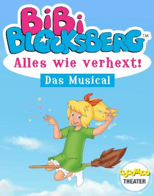 """Bibi Blocksberg - """"Alles wie verhext"""" - Musical von Marcell und Tiffany Gödde"""