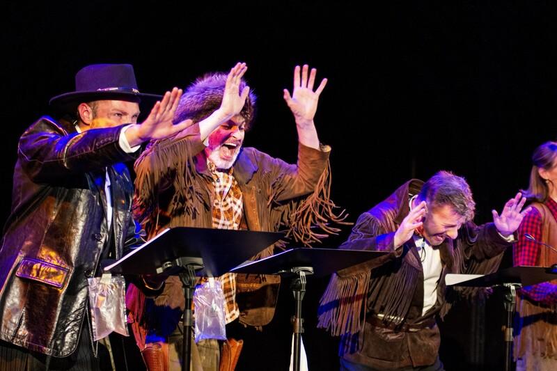 Baden-Württembergische Literaturtage Ettlingen -  Live-Hörspiel: Old Shatterhand unter Kojoten