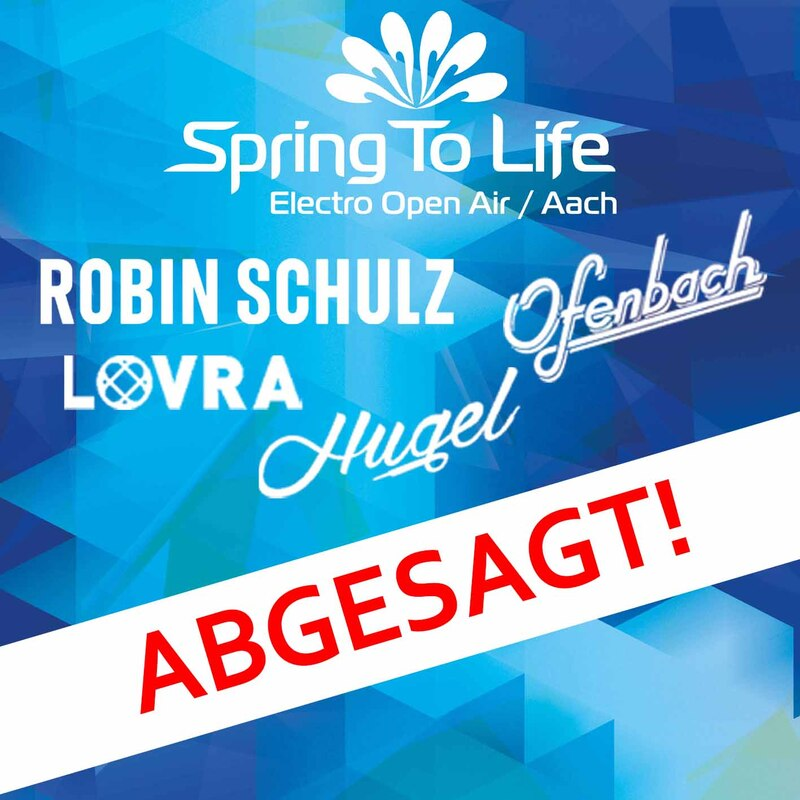 Spring To Life Electro Open Air - Robin Schulz, Ofenbach, Hugel, Lovra, u.a.m.