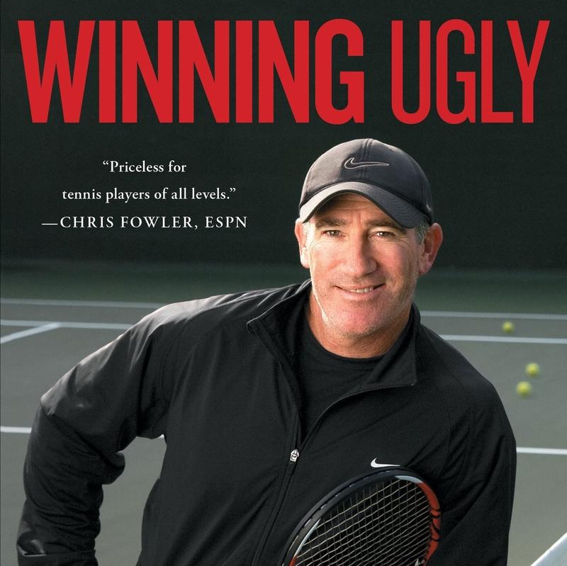 """Tennis Legende Brad Gilbert liest """"Winning Ugly"""""""
