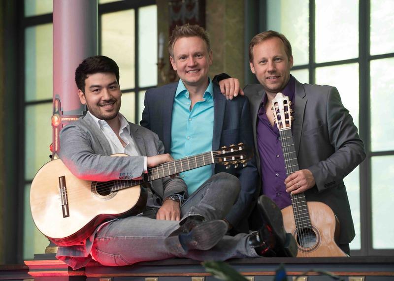 Alegrias Guitar Trio - Gerlando Konzerte im Hirsvogelsaal