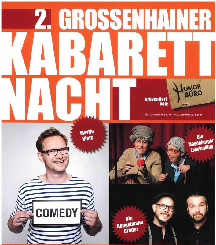 2. Großenhainer Kabarettnacht
