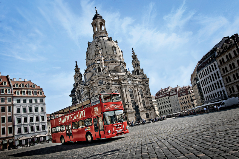 Stadtführung / Stadtrundfahrt - Dresden: Große Stadtrundfahrt