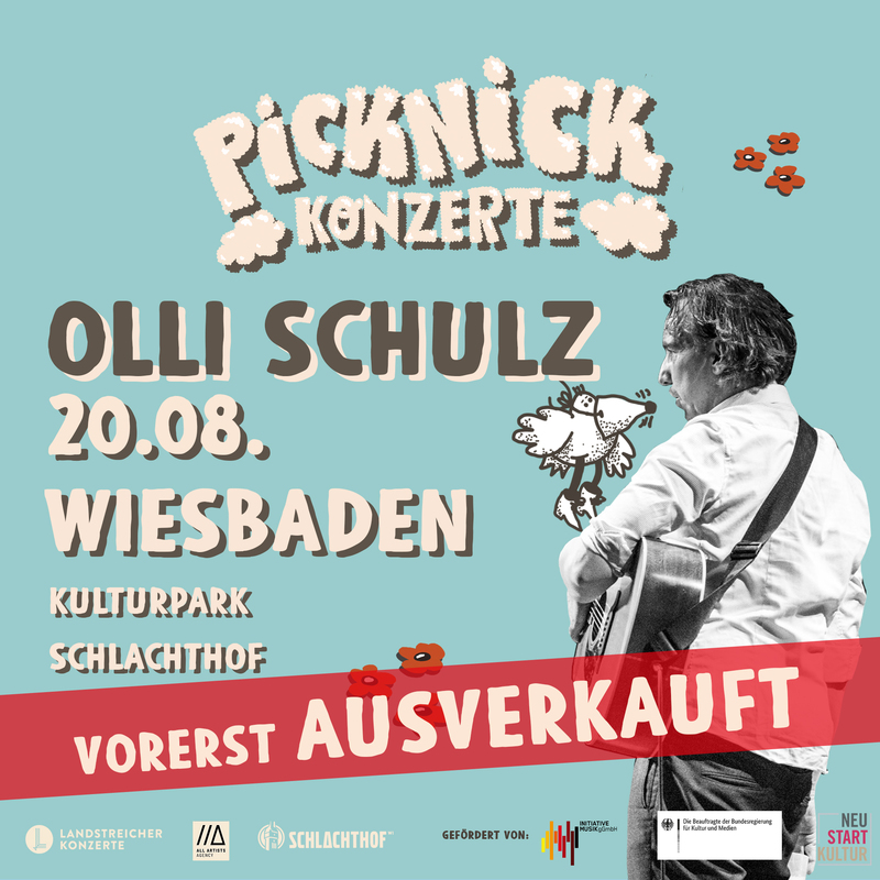 OLLI SCHULZ & BAND - Picknick Konzerte 2021