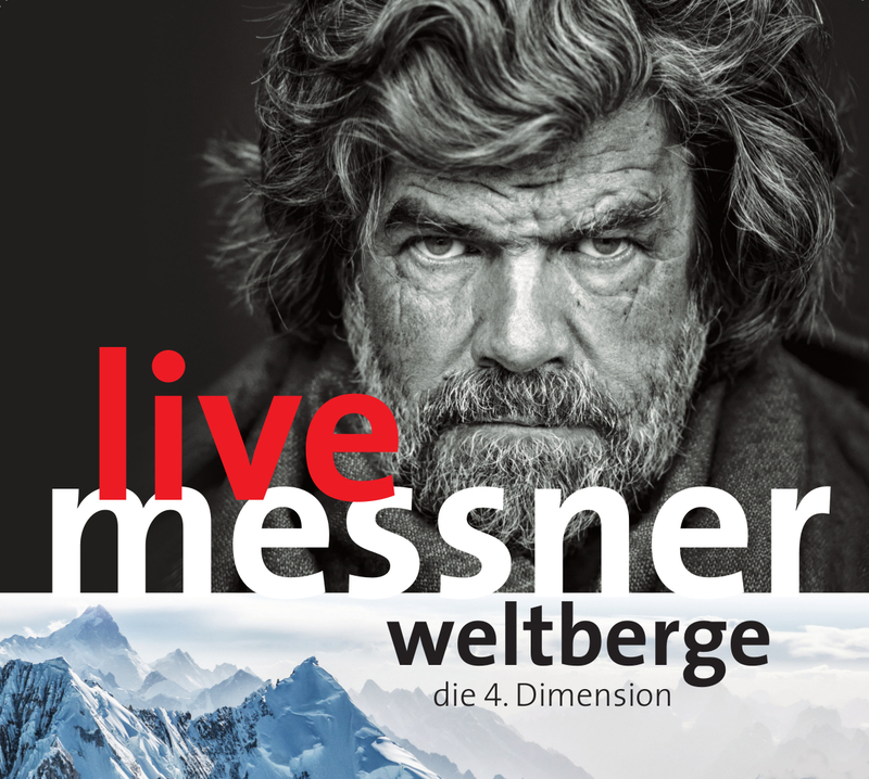 """Reinhold Messner live """"Weltberge"""" und Film """"Die Schleierkante"""" - Open Air"""