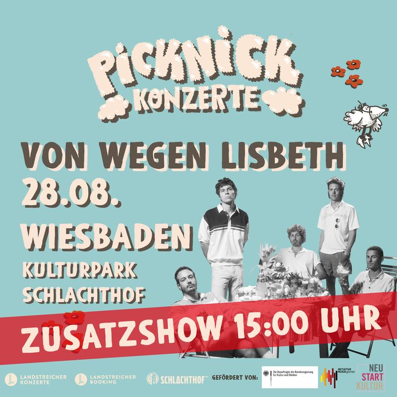Von Wegen Lisbeth - Picknick Konzerte 2021 (Zusatzshow)