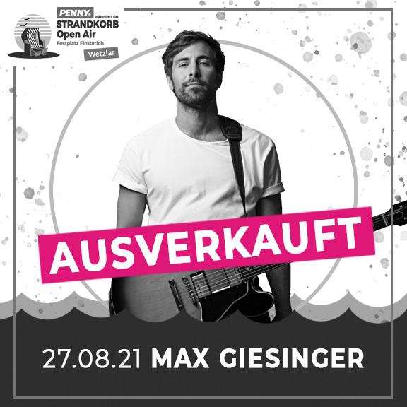 Max Giesinger - ENDLICH AKUSTIK! OPEN AIRS 2021