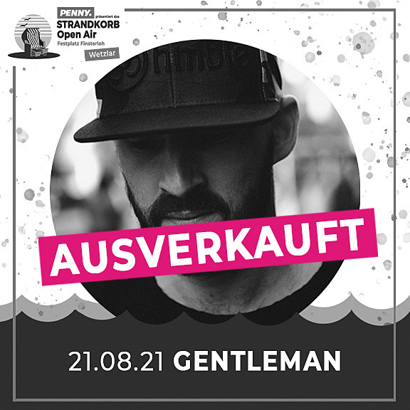 Gentleman - Strandkorb Open Air 2021
