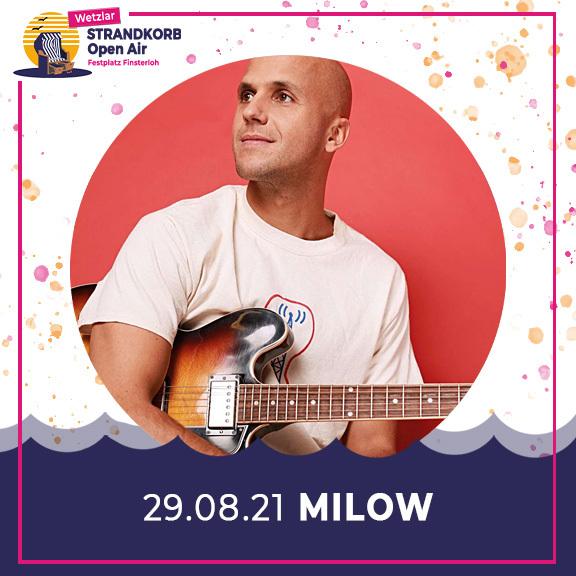 Milow - Strandkorb Open Air 2021