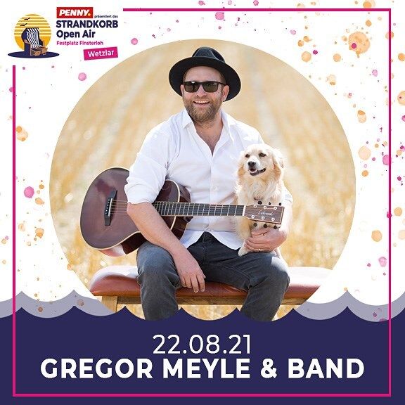 Gregor Meyle & Band - Strandkorb Open Air 2021