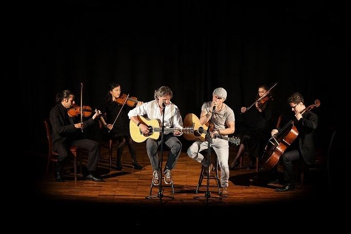 Kultur im Freien - Graceland - Simon & Garfunkel Tribute meets Classic (Duo Graceland mit Streichquartett)