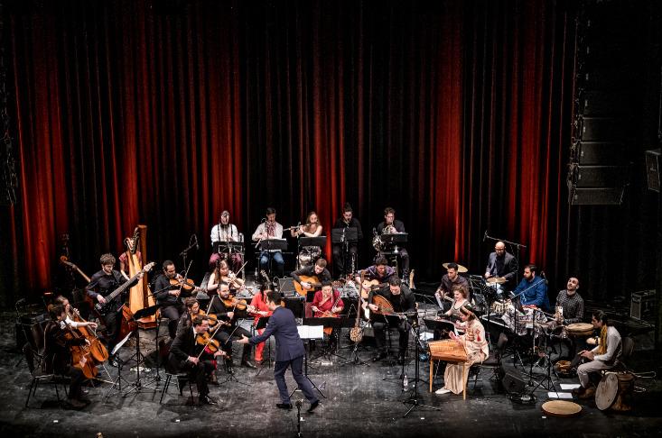 Bridges-Kammerorchester - Das Bridges-Kammerorchester zu Gast  in der Volksbühne im Großen Hirschgraben