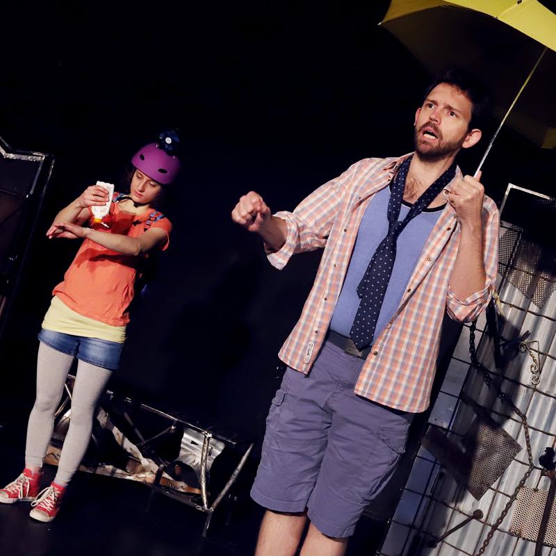 Sommer - Premiere des Kinder und Jugendtheaters der Burghofbühne