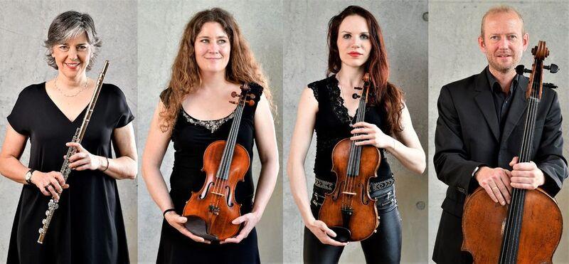 Klassik Brunch mit der Neuen Philharmonie Frankfurt - Sommerliche Klassiker mit Flöte und Streichtrio