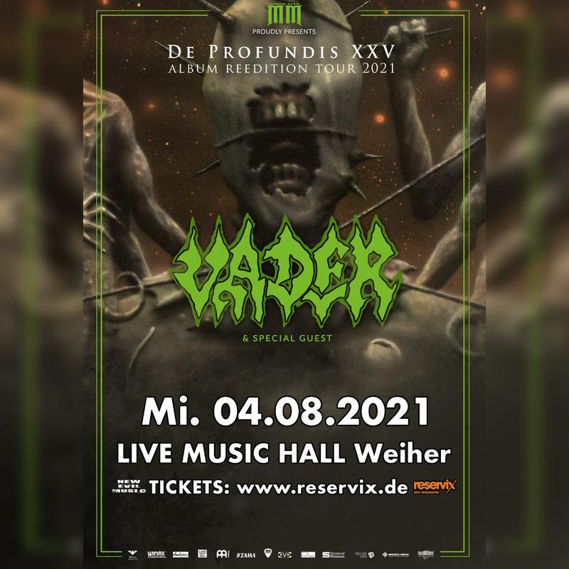 Vader - DE PROFUNDIS XXV - Album Reedition Tour 2021