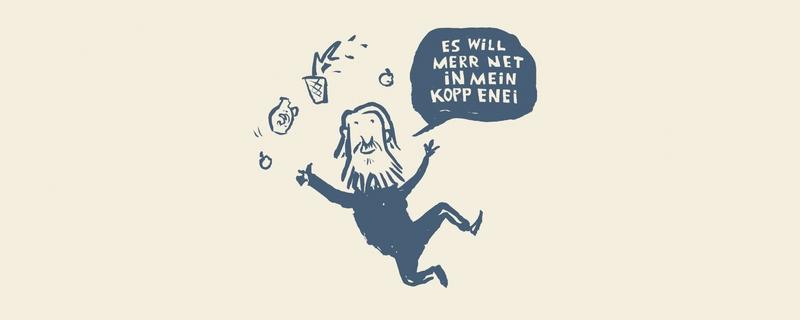 """Es will mer net in mein Kopp enei"" Die Friedrich-Stoltze-Revue"
