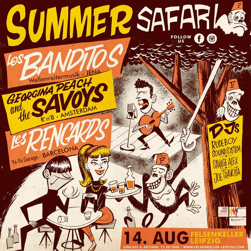 Summer Safari - 2021 (bei schlechtem Wetter im Saal)