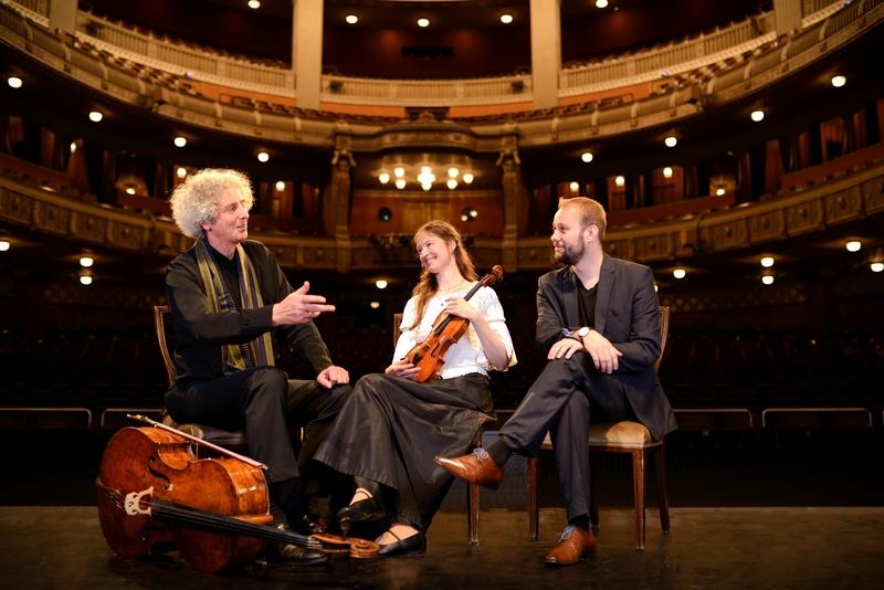 Julia Galic mit Trio Parnassus