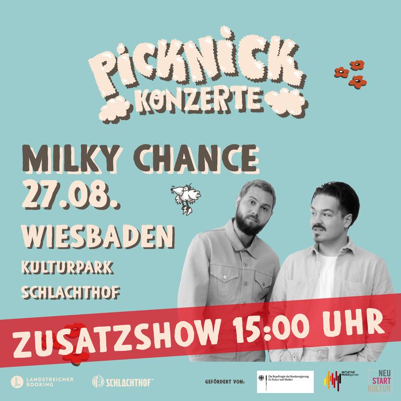 Milky Chance - Picknick Konzerte 2021 (Zusatzshow)