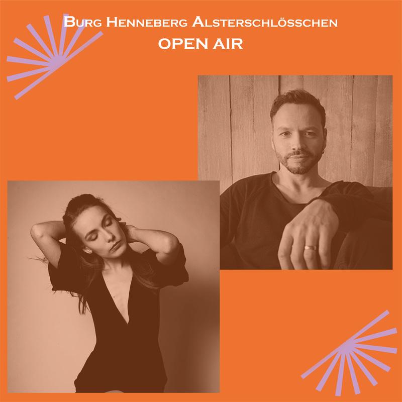 Maria Basel & Lennart A. Salomon im Burg-Open Air