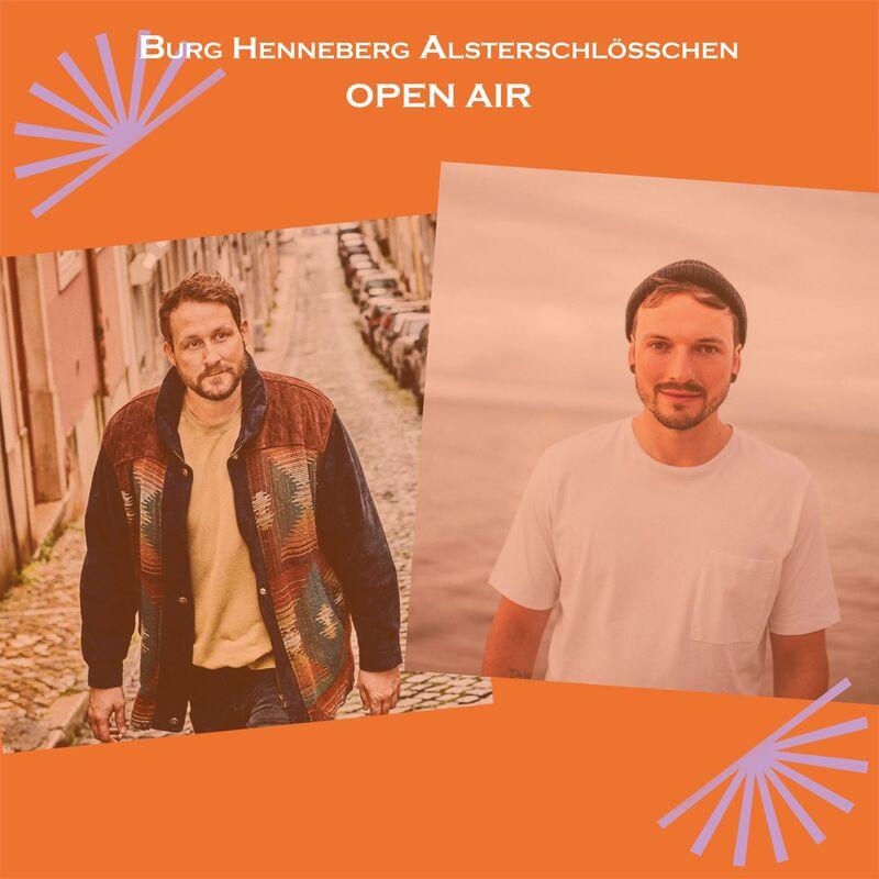 Florian Künstler & David Beta im Burg-Open Air