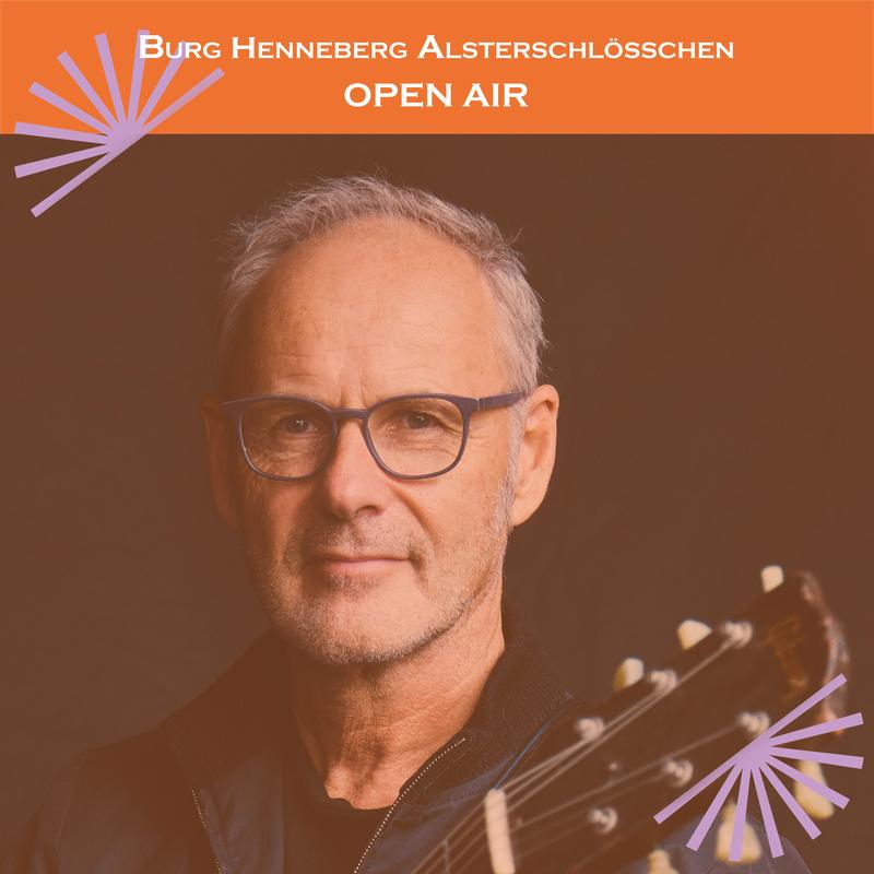 Reinhold Beckmann im Burg-Open Air