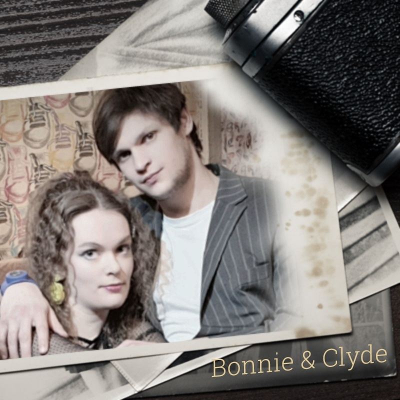 Zwei wie Bonnie und Clyde eine Gaunerkomödie