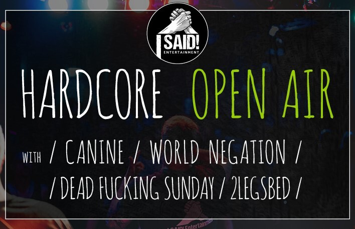 Hardcore OPEN AIR - by I SAID! Entertainment