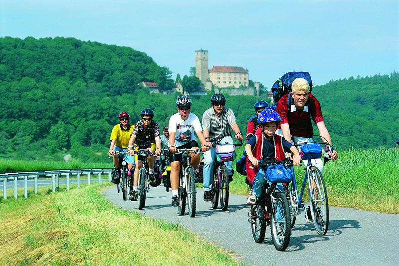 Geführte Erlebnisradtouren - Gästeführung - Radtour rund um Bad Rappenau - zu den drei Seen ca. 19 km