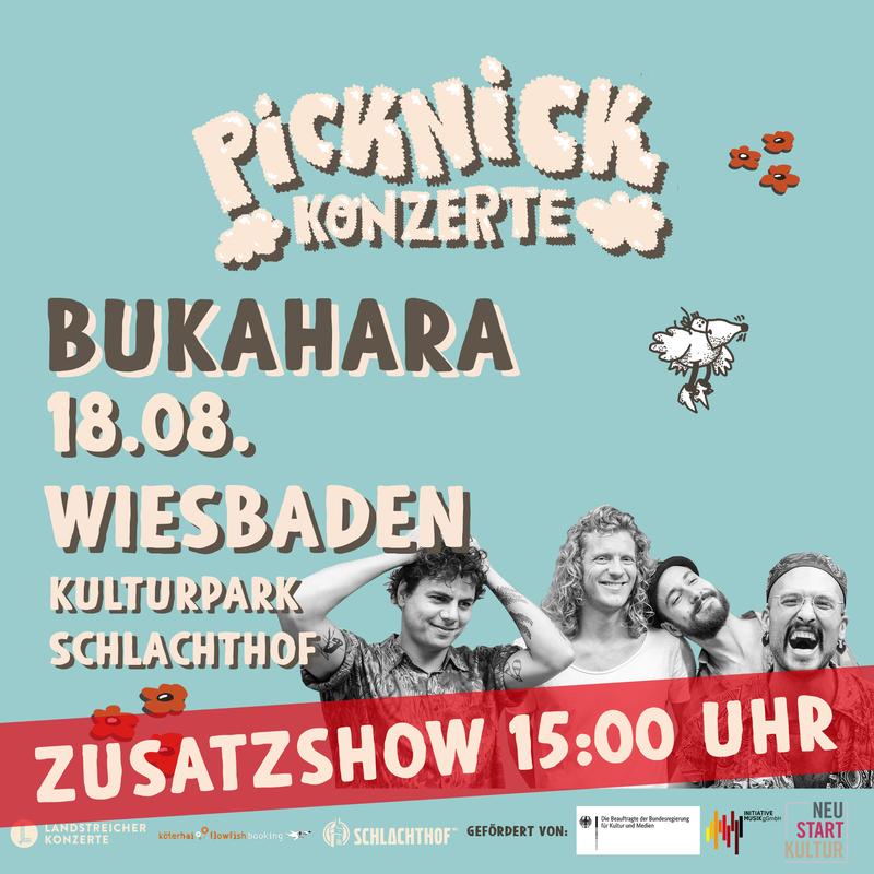BUKAHARA - Picknick Konzerte 2021 (Zusatzshow)