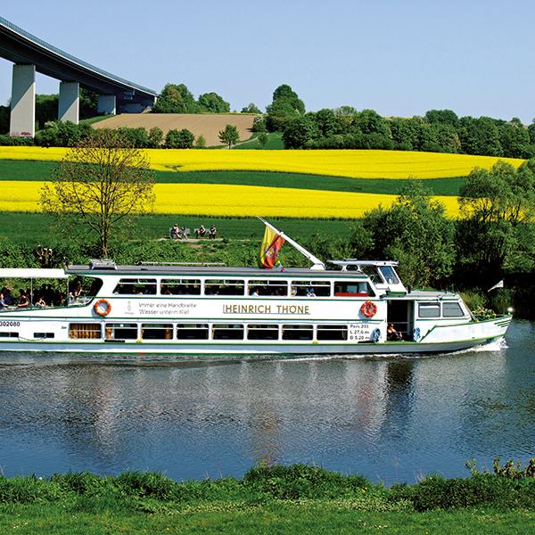Ruhrtalfahrt - Tageskreuzfahrten 2021 - Sommerprogramm