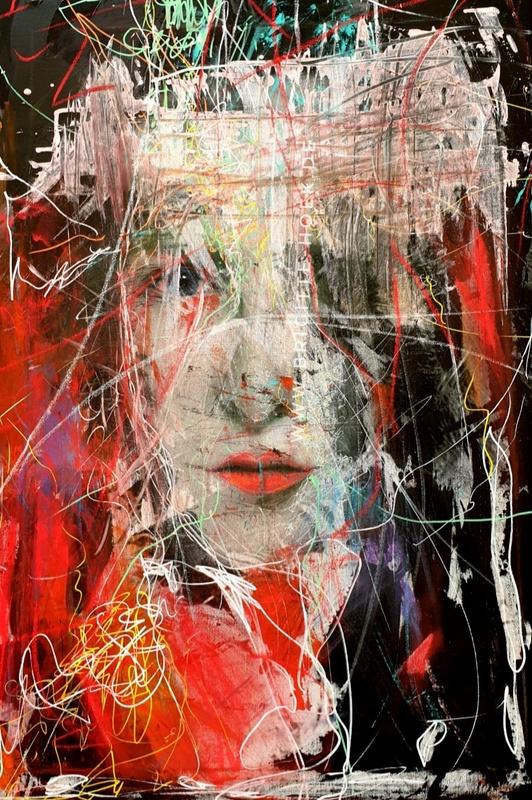 Modern Art by Brigitte Hök - Freie Ausstellung
