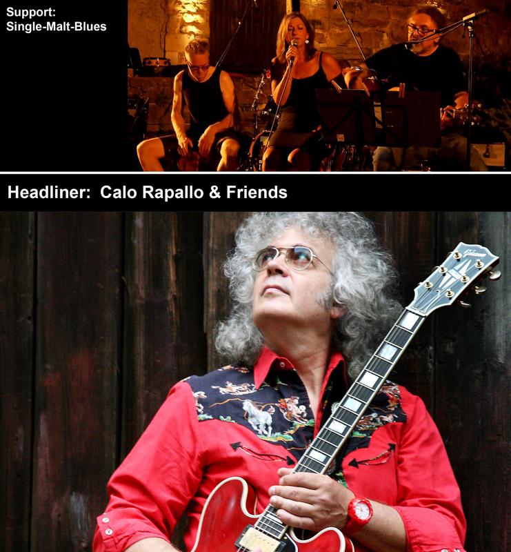 Calo Rapallo & Friends – Support: Single-Malt-Blues