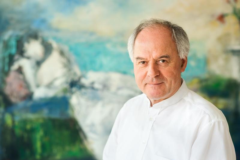 Prof. Dr. W. Schmid © Heike Steinweg