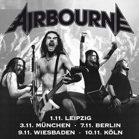 AIRBOURNE - live in Wiesbaden