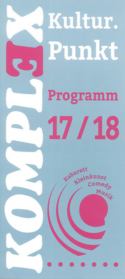 Bild: KulturPunkt 2017 /2018