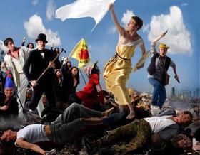 Bild: Ecco Meineke - Liberté! Égalité! Humbatäterä-Tätä!