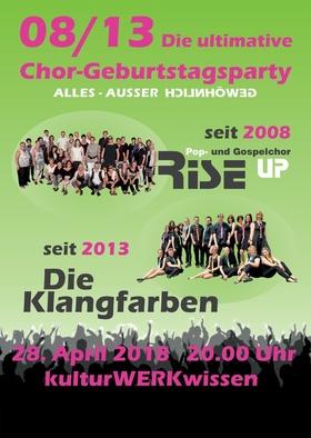 Bild: 08/13 - Die ultimative Chor-Geburtstagsparty
