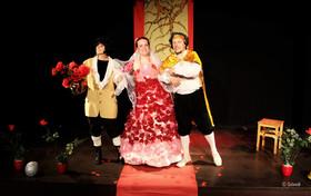 Bild: Dornröschen - Kindertheater