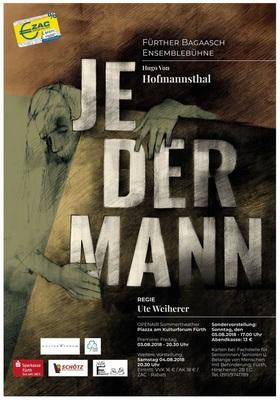 Bild: JEDERMANN - Das Spiel vom Sterben des reichen Mannes - Theaterstück von Hugo v. Hofmannsthal