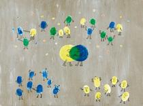 Bild: Das kleine Blau und das kleine Gelb - Bewegungstheaterstück nach einem Bilderbuch von Leo Lionni
