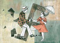 Bild: Der Umbrella Code - Ein Theaterstück über Verfolgung und Widerstand der Swing-Jugend im Nationalsozialismus